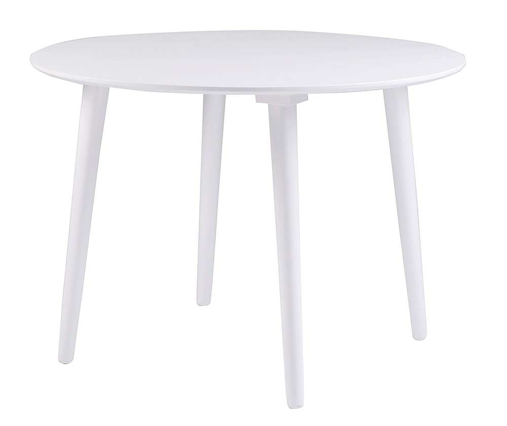 Lotta pöytä pyöreä Ø106 valkoinen, Rowico