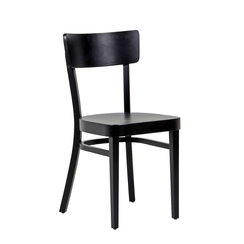 Cafe tuoli musta