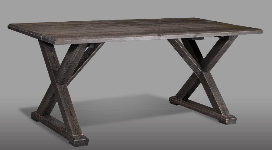 Vanamo ruokapöytä 180x92cm harmaa