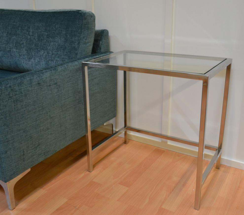 Lasipöytä 60 x 40 x 60 cm, Roomlight