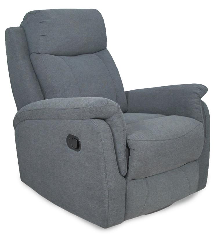 Rubin recliner tuoli, Mesh harmaa, Tenstar