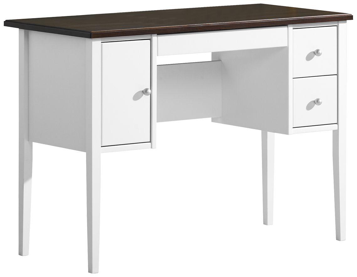 Sara kampauspöytä valkoinen/ruskea