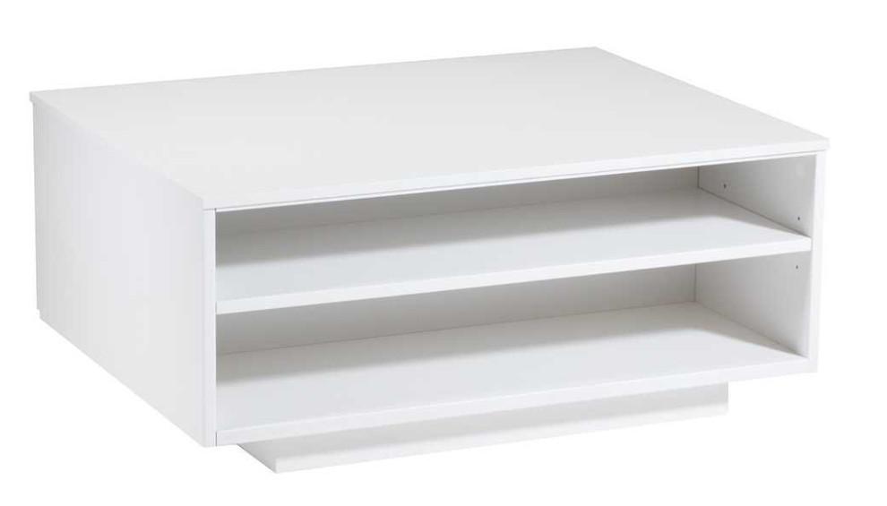 Taso sohvapöytä 85x65 valkoinen, Laulumaa