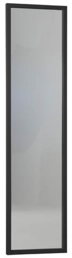 Enter peili 40x160 cm musta