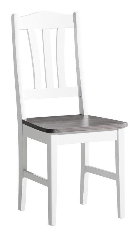 Viktoria tuoli valkoinen/kuultoharmaa