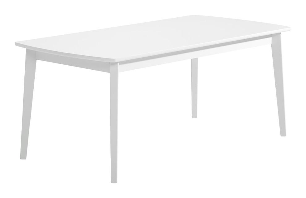 Olivia ruokapöytä 180x90 valkoinen