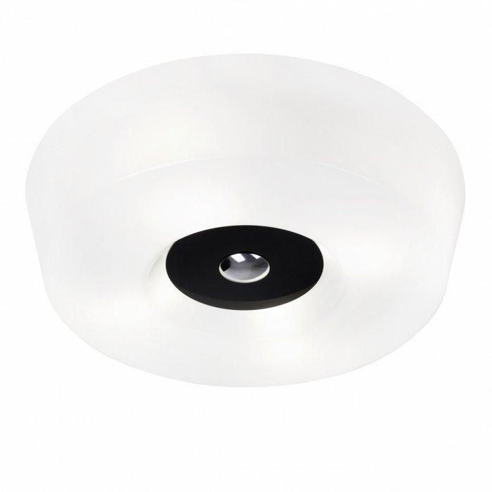 Yki 500 plafondi valkoinen, musta keskiö