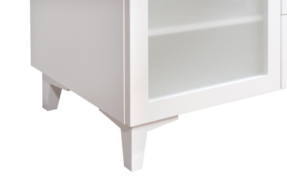 Anton työpöytä 160 cm, valkoinen/saarni