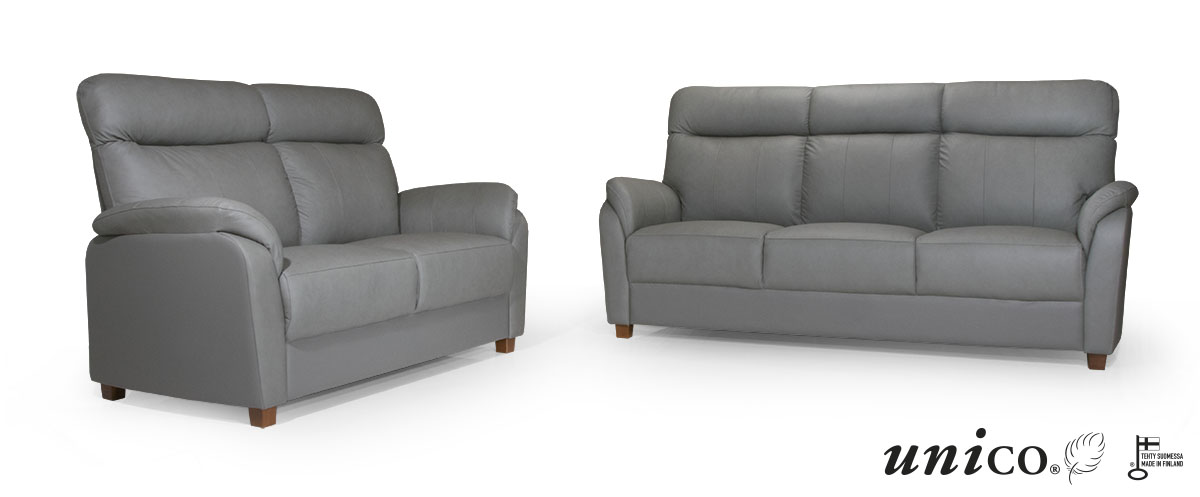 Flamingo 3-ist. sohva Cat30 nahka/keinonahka