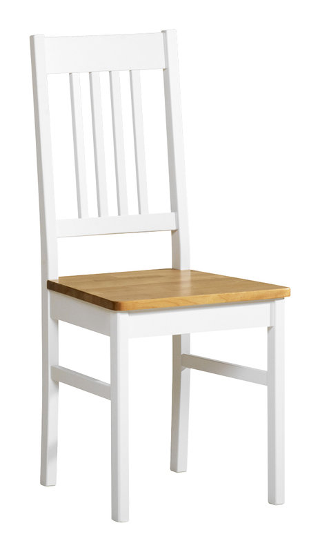 Emilia tuoli valkoinen/lv koivu