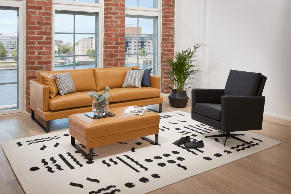 Helsinki 3-st. sohva (196) Torello nahalla
