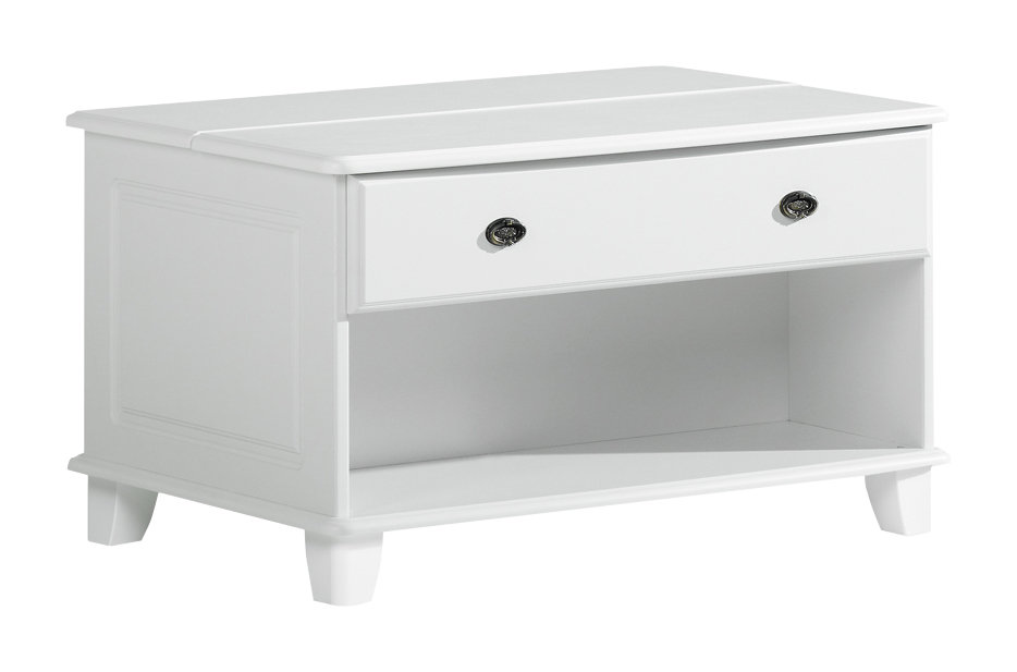 Viktoria arkkusohvapöytä valkoinen