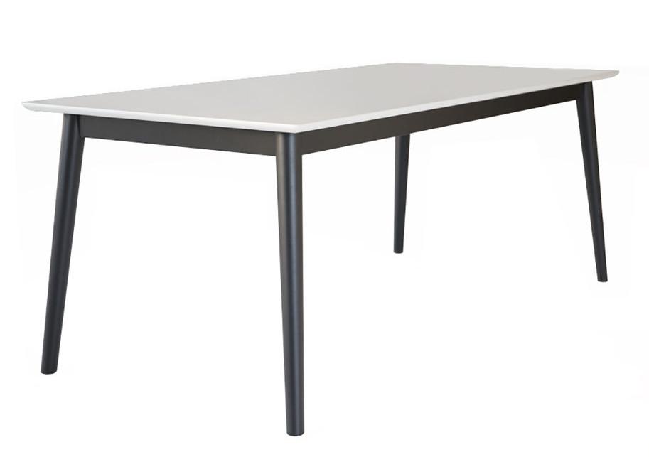 Eelis ruokapöytä 190x90 valkoinen/musta