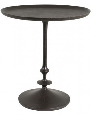 Audry sivupöytä 57xK62 cm musta metalli