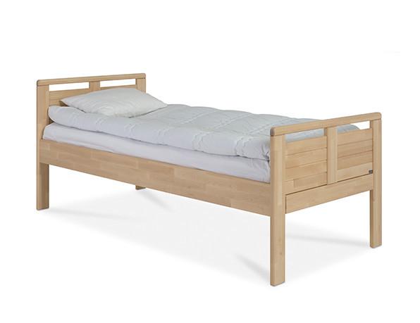 Seniori sänky 90x200 lakattu koivu