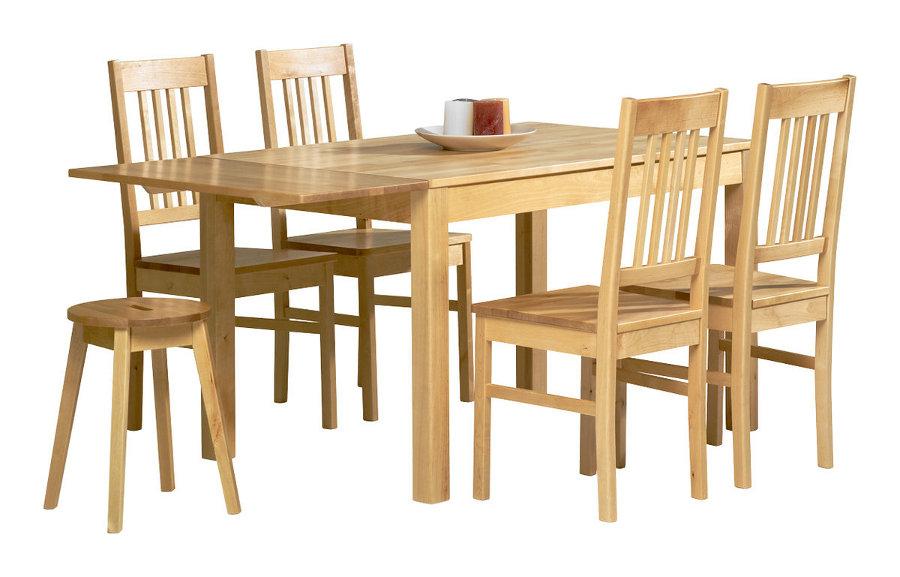 Emilia pöytä 120x80 lv koivu