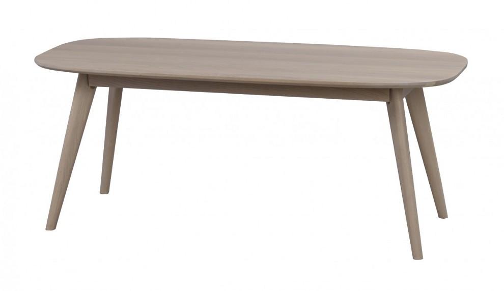 Yumi sohvapöytä 125x60, valkolakattu tammi MALLI