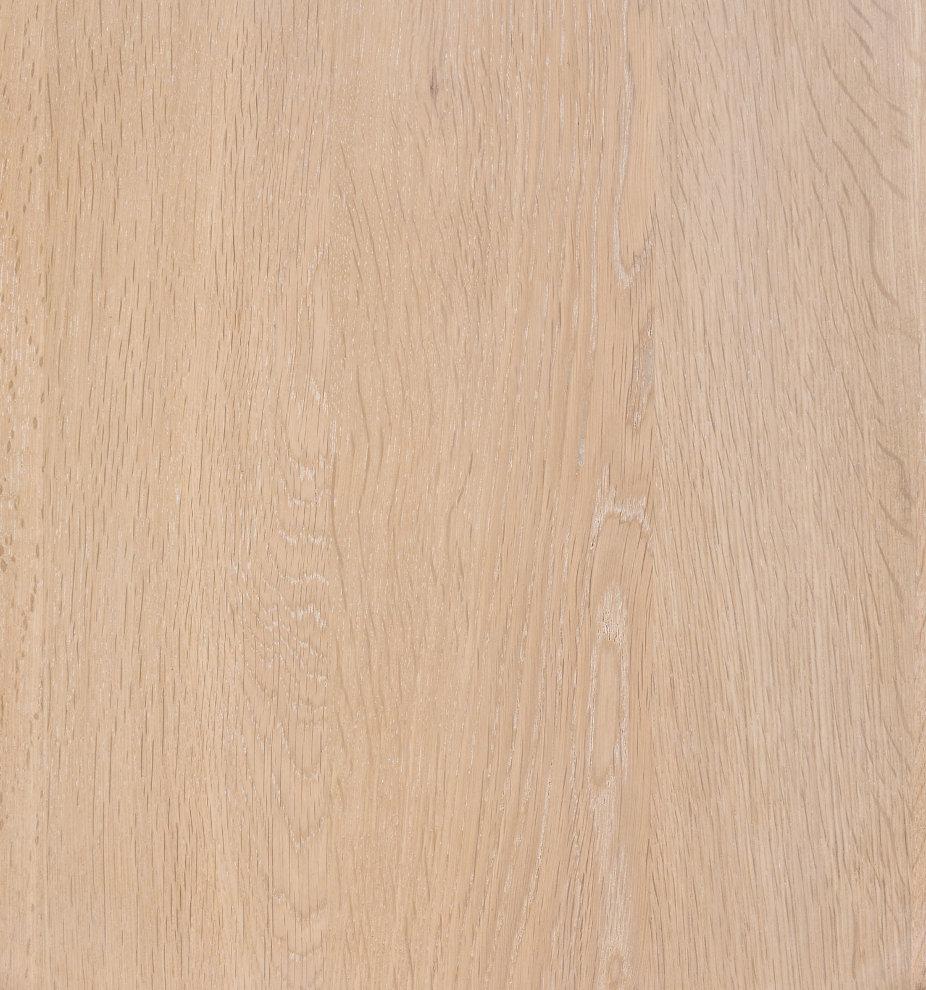 ZigZag pöytä pyöreä 110(50)x110cm saarni valkolakka