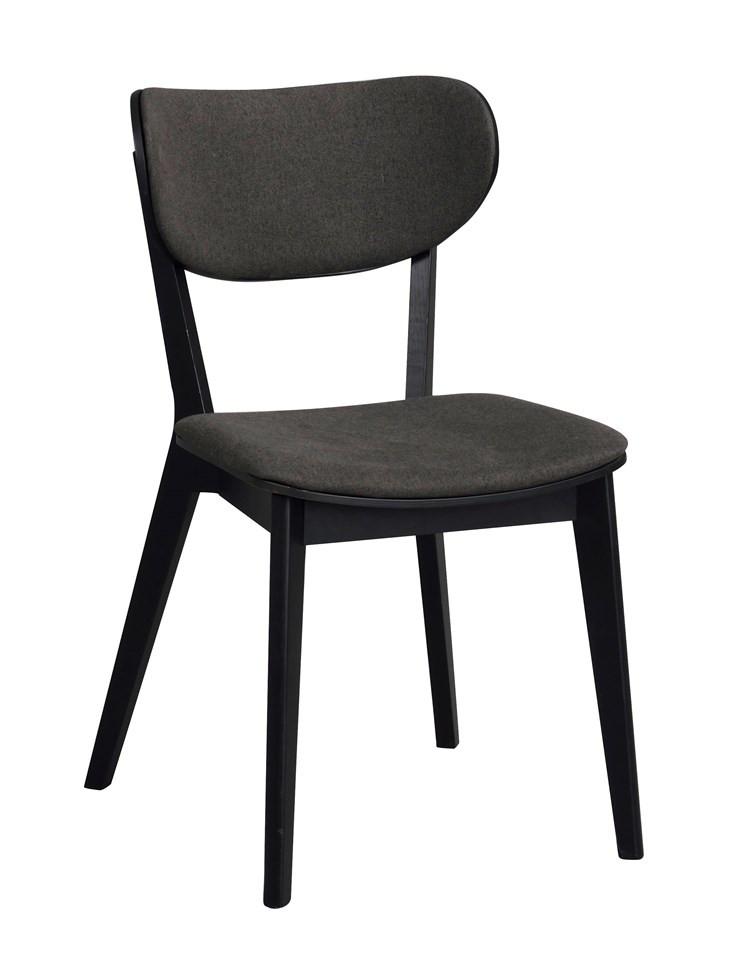 Cato tuoli musta tammi / harmaa, Rowico