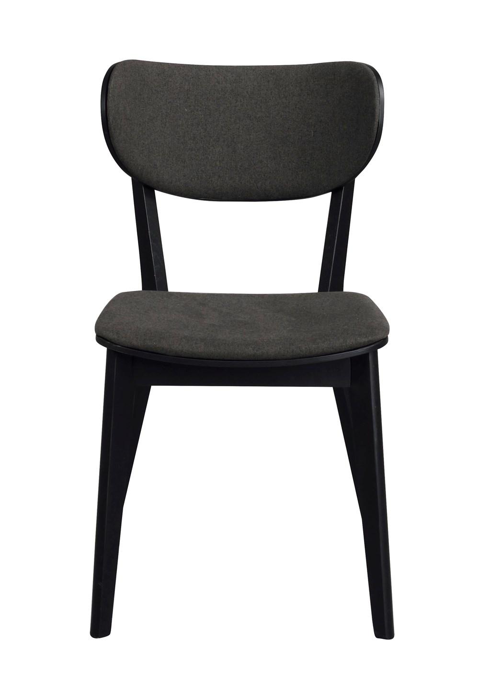 Kato tuoli musta tammi / harmaa, Rowico
