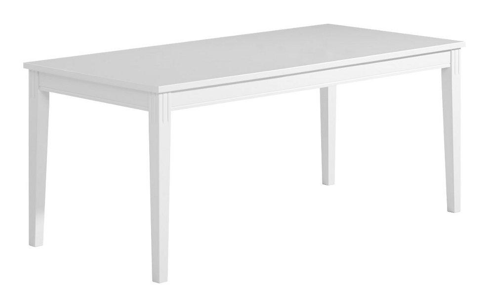 Ida ruokapöytä 180x90 valkoinen