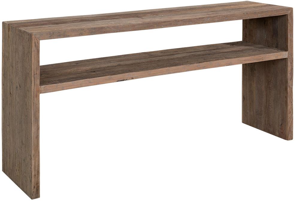 Bison konsolipöytä massiivi jalava, Artwood