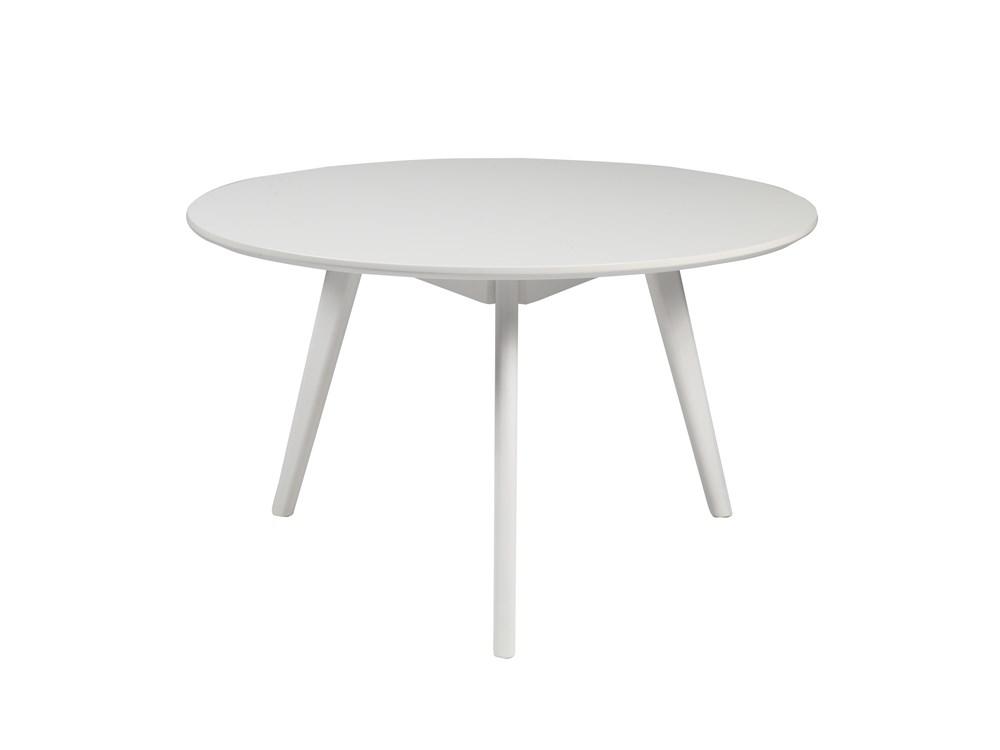 Yumi sohvapöytä pyöreä, valkoinen, Rowico