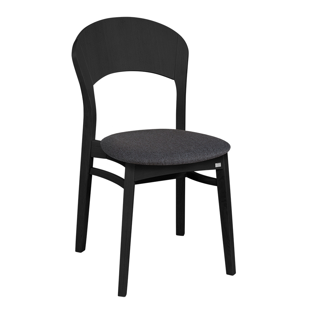 Rainbow tuoli musta, Hans K