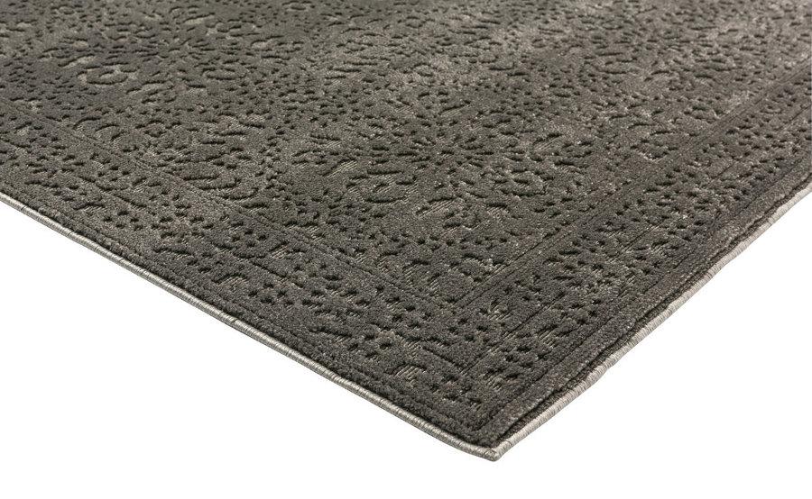 Naavo matto 140 x 200 cm harmaa