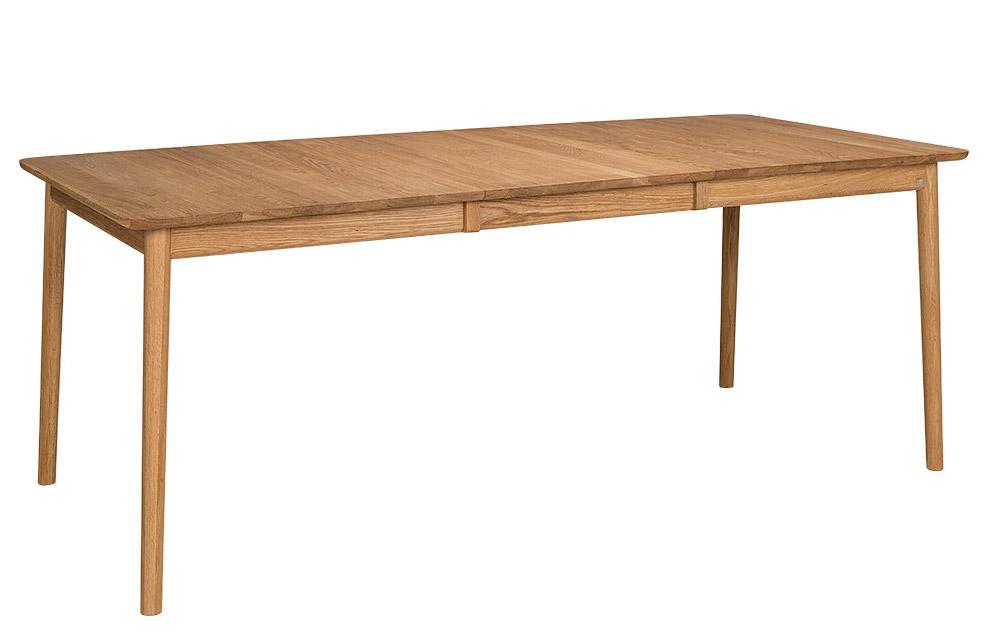 ZigZag pöytä 140(53)x90cm öljytty tammi