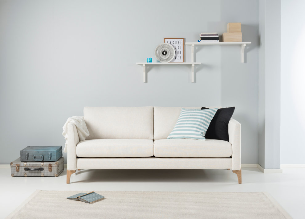 Nemo 183/2 sohva Nino tai Resto kankaalla, Shapes