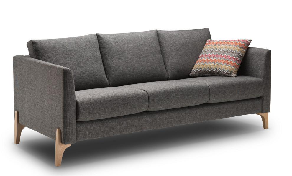 Nemo 183/3 sohva Nino tai Resto kankaalla, Shapes