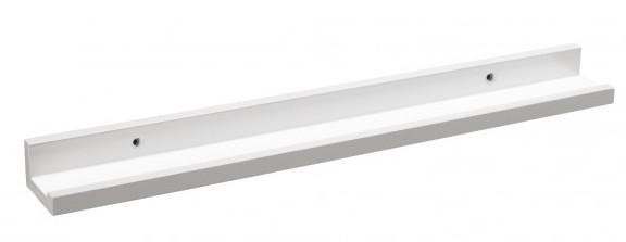 Flinga II valokuvahylly / taululista 80 valkoinen