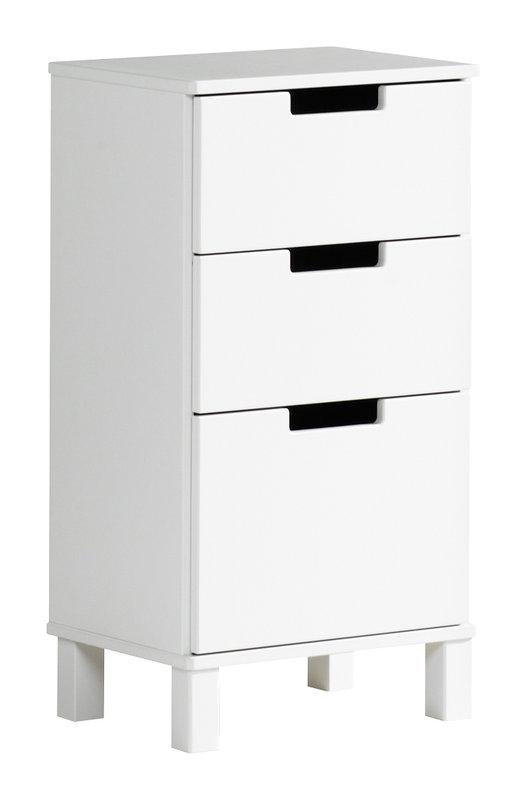 Emilia laatikosto 45/1+2 valkoinen