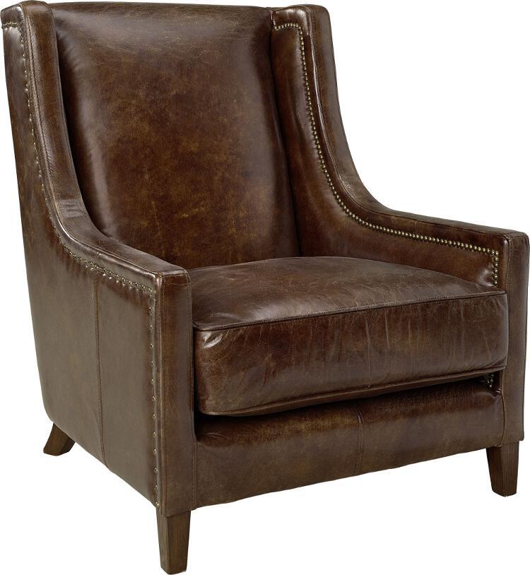 Artwood AW44 nojatuoli antiikkinahka ruskea