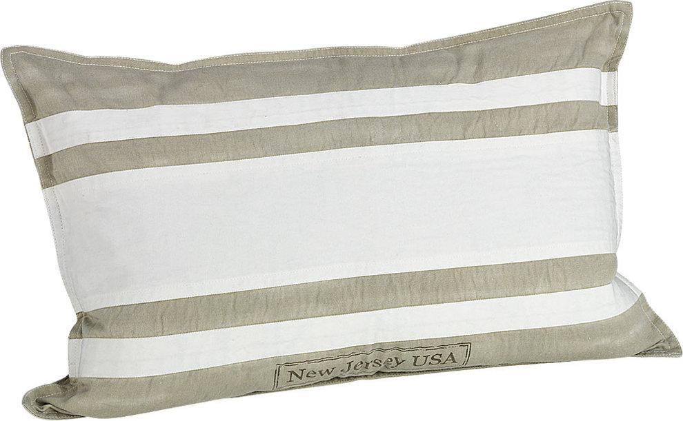 Koristetyynyn päällinen New Jersey beige/l.valk.