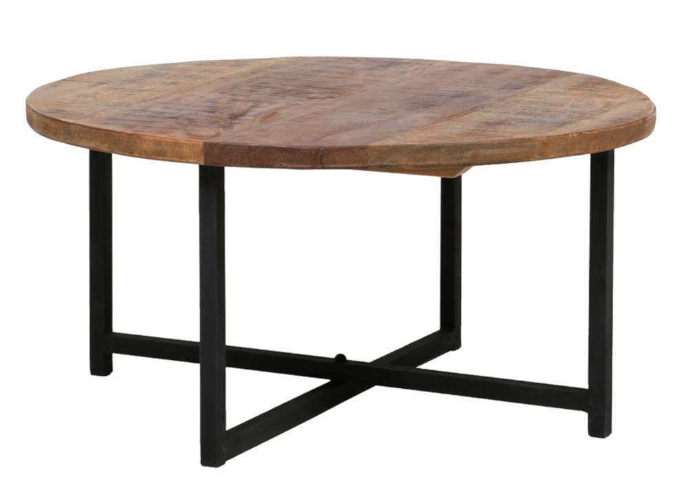 Acazia Iron sohvapöytä pyöreä Ø80 cm