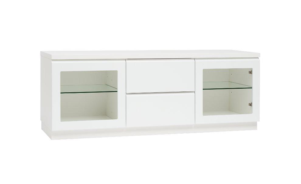Line 11, taso 2 lasiovea + 2 laatikkoa valkoinen