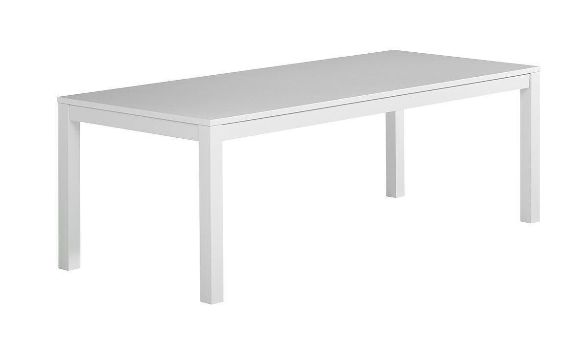 Julia pöytä 220x100 valkoinen