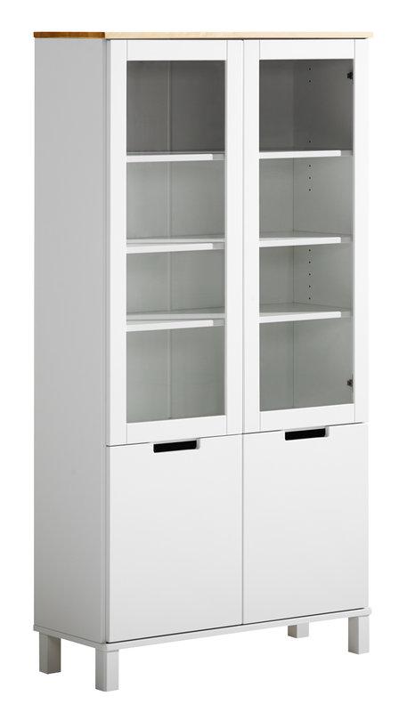 Emilia vitriini 85/2 valkoinen/lv koivu