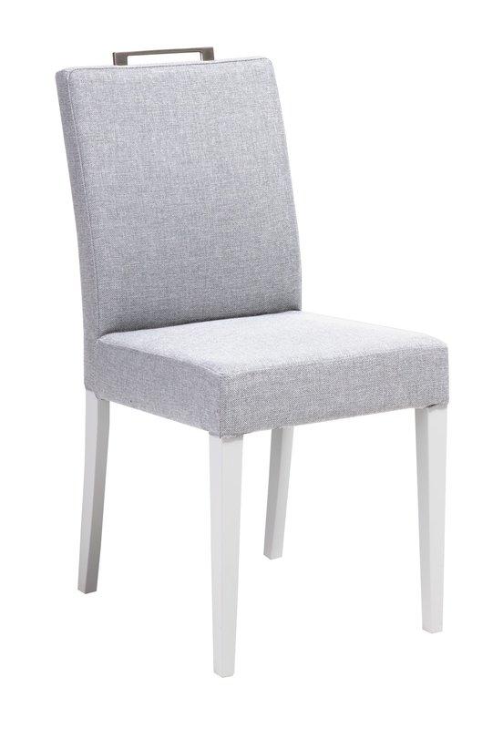 Liinus tuoli matala valkoinen/vaaleanharmaa