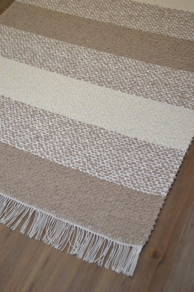 Kodin helmi muovi/puuvilla matto 70x300 beige