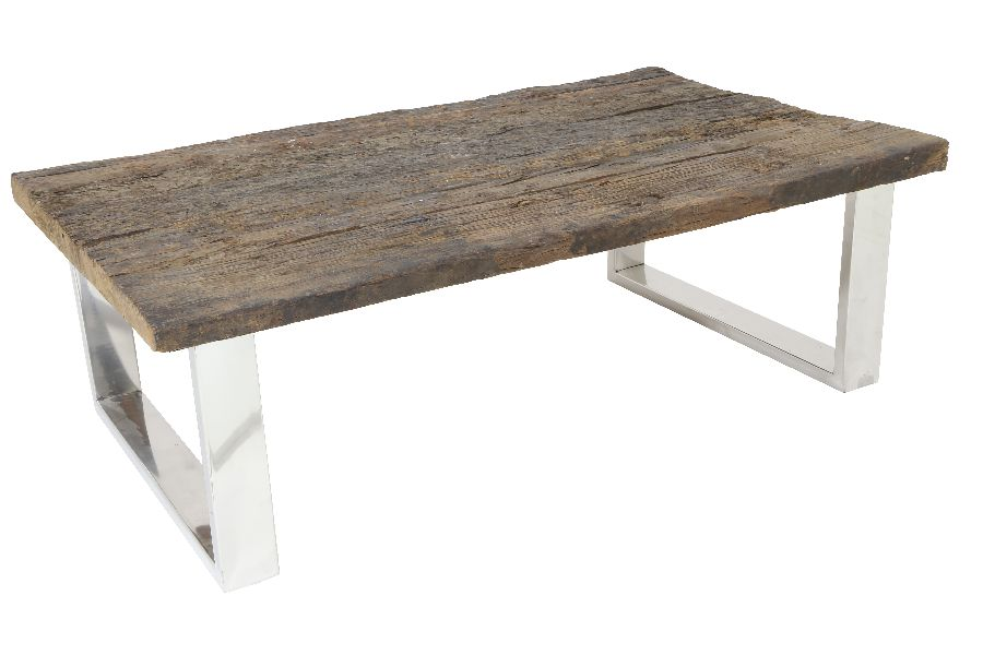 Railway Wood sohvapöytä 120x75x40 cm, Roomlight