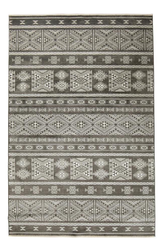 Fiona matto 160 x 230 tummanharmaa, Mattokymppi