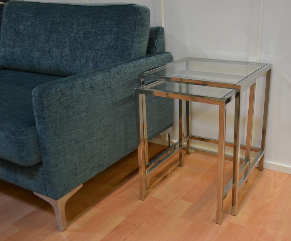 Lasipöytä setti - 2 eri kokoista, Roomlight