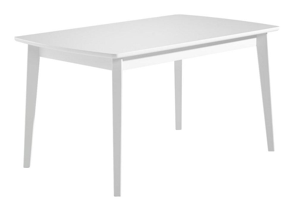 Olivia ruokapöytä 140x85 valkoinen