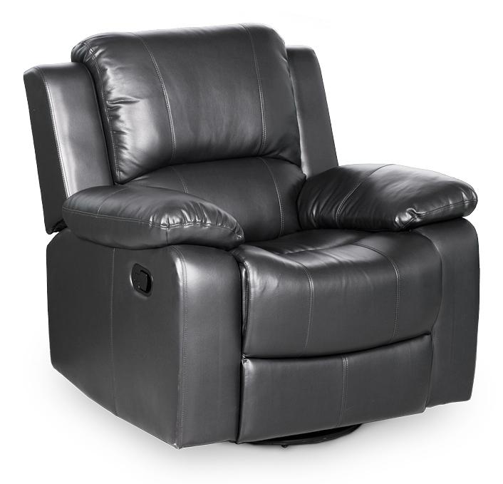 Andalusia recliner tuoli musta, Tenstar