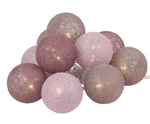 Decorlight 10-palloa vaaleanpun. mix, Roomlight