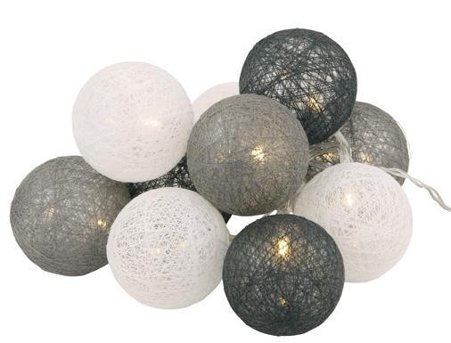 Decorlight 10-palloa harmaa mix, Roomlight