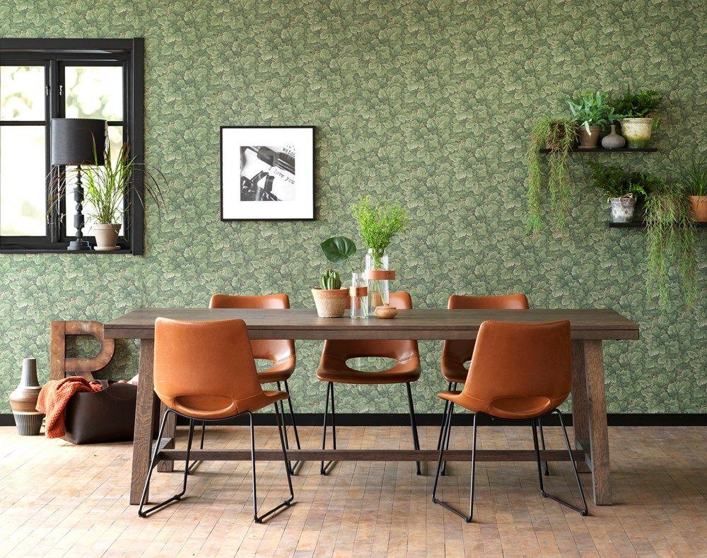 Brooklyn ruokapöytä 220x95 ruskea tammi, Rowico